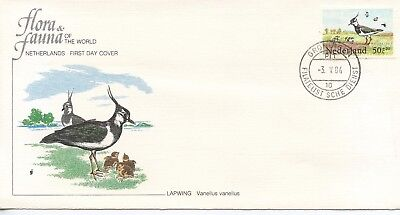 Netherlands - 1989  Lapwing   Fdc459