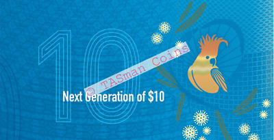 Australia Currency - 2017 - Next Generation of $10 Banknote Folder
