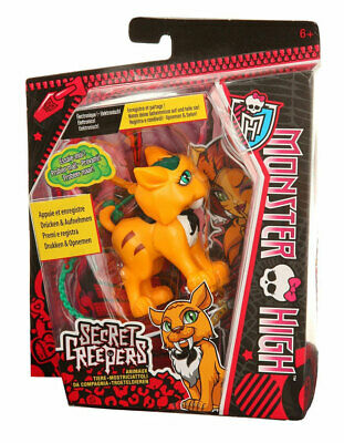 Monster High Secret Creepers Sweet Fang , Tier mit Aufnahmefunktion
