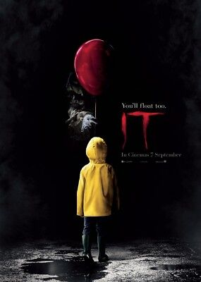 Unofficial IT (1) *A3* print Poster - Pennywise clown Stephen King movie