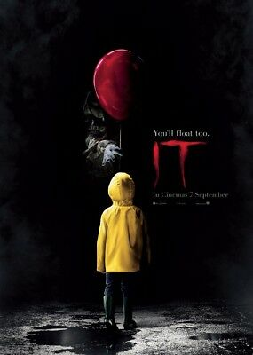 Unofficial IT (1) *Glossy A4* print Poster - Pennywise clown Stephen King movie
