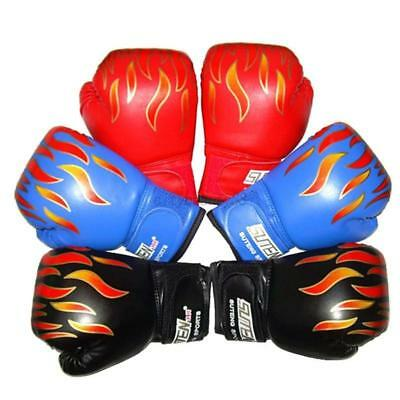 UK Boxing Gloves Kid Junior Youth Sparring Training Punching Bag Mitts Muay Thai