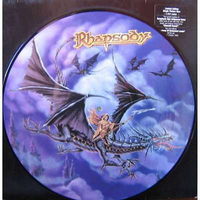 "Rhapsody "" Emerald Sword "" picture disc"
