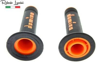 Griffe Domino schwarz – orange X-treme Motocross Enduro KTM SX SXF EXC