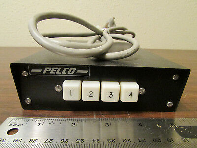 Pelco Video Switch 4 Channel MS504GDT With BNC Connectors
