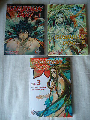 LOT Guardian Dog, tomes 1 2 3 EO  Akira Shirakawa Shouko Fukaki ki-oon MANGA