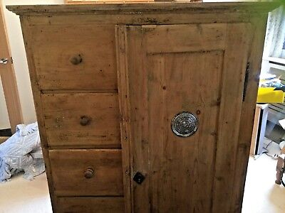 Pine Larder Cupboard. BARGAIN piece of pine save £££££ !😃