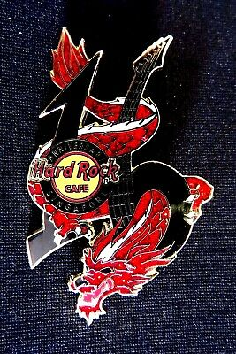 Hard Rock Cafe SINGAPORE 2006 16th ANNIVERSARY Red Dragon Pin Badge LE
