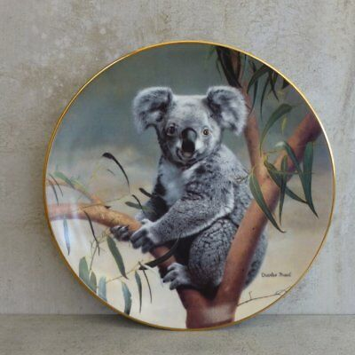 Bradex Natures Lovables Koala Collector Plate 1990 Charles Frace Numbered