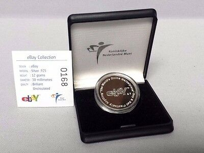 2003 eBay & Statue of Liberty Logos .925 Silver Limited Edition Coin