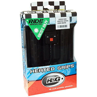 R&G Racing Heated Motorcycle Handlebar Hot Grips for 7/8 inch 22mm Bars R and G