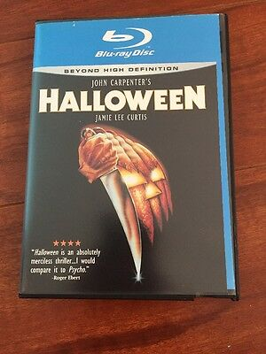 Vintage Blockbuster Video Store DVD John Carpenter's Halloween In Blu-ray Case