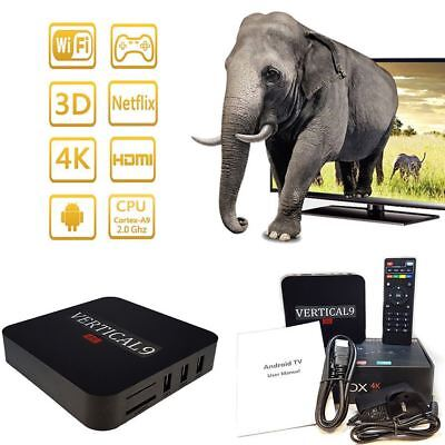 New Android 6.1 4K Quad core Smart TV Box Internet IPTV TV Multimedia Gateway