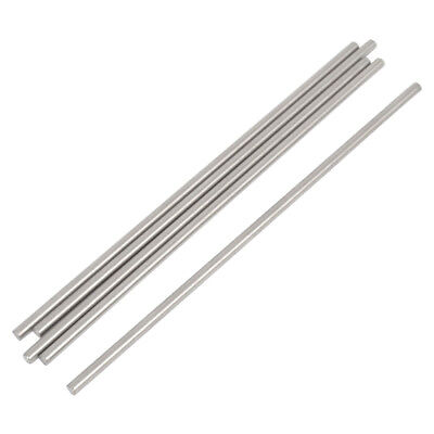 PF 5 Pcs RC Airplane Stainless Steel Round Rods Axles Bars 3mm x 150mm
