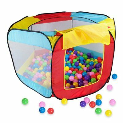 PF Play House Indoor and Outdoor Easy Folding Ball Pit Hideaway Tent Play Hut