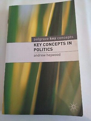 Key Concepts in Politics by Andrew Heywood (Paperback, 2000)