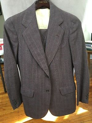 Dated 1940's Bespoke 3 Piece Suit 38R