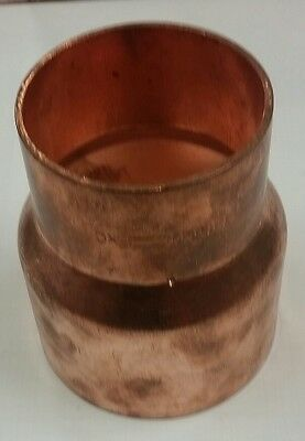 "4"" X 3"" Copper Fitting Reducer Nibco Fxc New, Never Used"