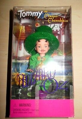 New Mattel Friends Of Barbie Tommy As Mayor Munchkin The Wizard Of Oz Doll