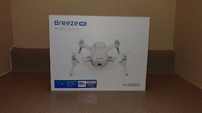 Yuneec breeze 4k drone (PRACTICALLY NEW!)