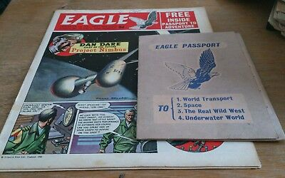 Eagle Comic, 19/3/60, With Free Gift