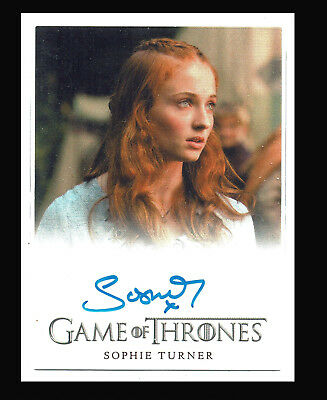 Game of Thrones Season 2 Autograph Card Sophie Turner as Sansa Stark Auto Card