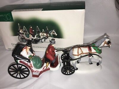 Department 56 A Carriage Ride For The Bride #58901 Christmas In The City