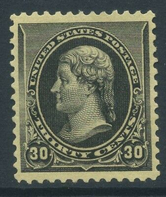 1890-93 US Small Banknote 30c Sc 228 NH Cat $900