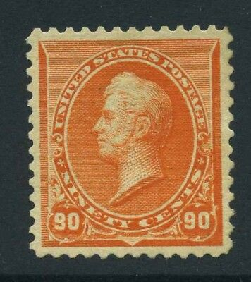 1890-93 US Small Banknote 90c Sc 229 NH Cat $1450