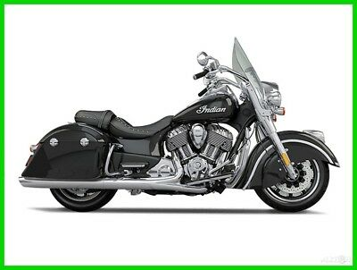 2016 Indian Springfield  2016 Indian Motorcycle Springfield Thunder Black New