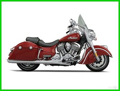 2016 Indian Springfield  2016 Indian Motorcycle Springfield Indian Motorcycle Red New