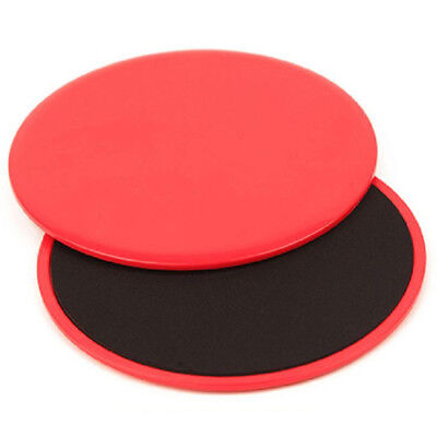 PF 1 pair Fitness Gliders Gym Slider Workout Discs Core Ab Exercise Gym Training