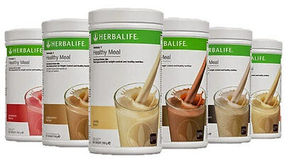 ALL NEW Herbalife Formula 1 Shake Mix.  Choose ANY Flavor, Free Shipping