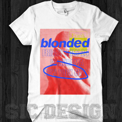 Blonded Frank Ocean Official Logo Panorama Blonded NY  tour 2017 Endless T Shirt