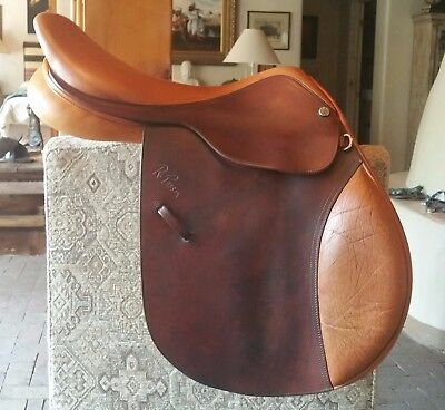 """Pessoa A/O Jumping Saddle 18"""" M Tree - Pampered Show Condition!!"""