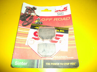 Yamaha YZ125 YZ 125 1998-2002 SBS 604SI Sintered Competition Rear Brake Pads