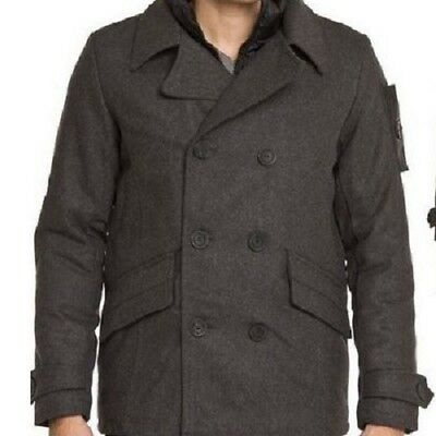 English Laundry Double Brested Peacoat 6Pcs [Ome240H_Char]
