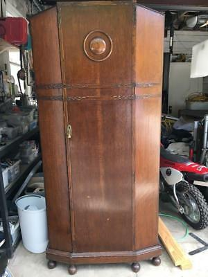 Antique Art Deco Armoire