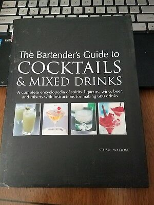 the bartenders guide to cocktails and mixed drinks
