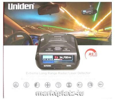 Uniden R3 Extreme Gps Radar Laser Detector International Shipping Eu Us Ca Au Ru