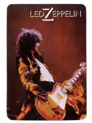 * stairway to heaven * LED ZEPPELIN- 1 x PORTUGAL  pocket CARD CALENDAR  1988