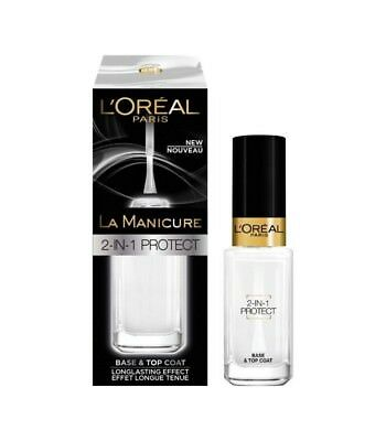 La Manicure de L'Oréal Base et Top Coat 2 en 1 Protect