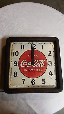 "1939 Era "" COCA COLA SELECTOCLOCK "" Made by Selected Devices, Co. New York"