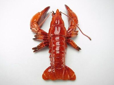 Fridge Magnets - Red Lobster (4 pcs) Home decor/ Fine craft/ Perfect gift/