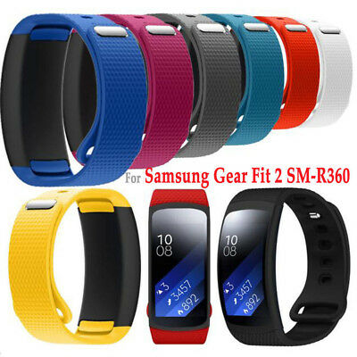 Silicone Replacement Watch Band Wrist Strap For Samsung Galaxy Gear Fit 2 /Pro