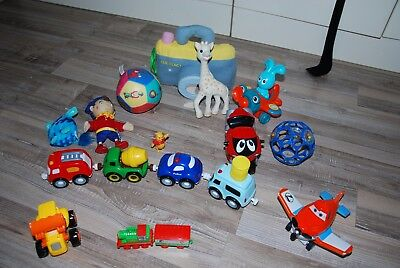 lot jouets premier age moulin roty chicco