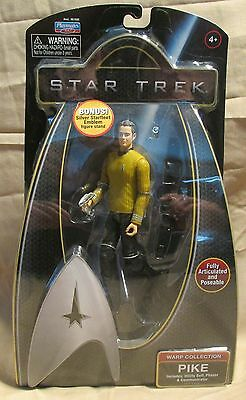 Star Trek Movies Warp Collection Pike Playmates 2009 mint in package