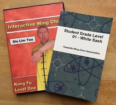 Wing Chun Kung Fu - Level 2 with Test Requirements Booklet - 3 Months Training