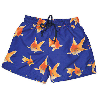 Splash About Board Shorts Funky Fish With Mesh Liner