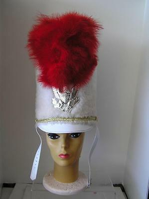 Vintage Vaudeville Palm Springs Follies Band Marching Hat Ostrich feather